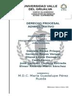 Consideraciones Generales Sobre El Procedimiento Administrativo