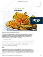 20 Saludables Snacks Para Perder Peso