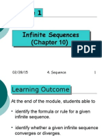 Infinite Sequence Module 1