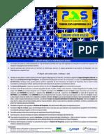 Prova do PAS UnB da 1ª Etapa de 2014. Caderno Athos Bulcão.