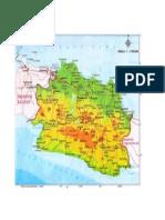Peta Jawa Barat