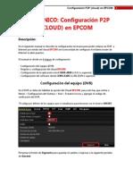 Configuración P2P (Cloud) en EPCOM
