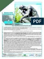 Prova do PAS UnB da 2ª Etapa de 2014. Caderno Rodin.