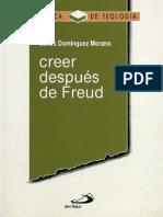 Domínguez, Carlos (1991). Creer Después de Freud. Ed. Paulinas