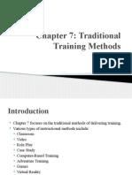 Chapter 7 Presentation Training and Development