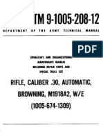 Browning .30 M1918A2 WE (TM 9-1005-208-12)