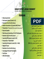MAC 12 Quran Award Program