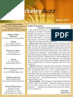 BUMC March 2015 Newsletter