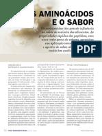Aminoacidos e Sabor