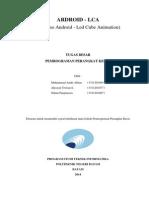 Laporan Tugas PK - Android LCA (LED Cube Animation)