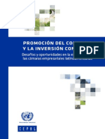 CEPAL Documentos-Promocion Del Comercio e Inversion Con China