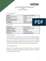 Silabo de Estadistica en La Organizaciones 2015