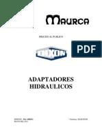 Adaptadores hidraulicos
