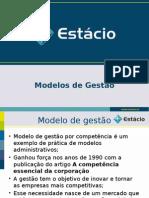 Modelos de Gestão XIX