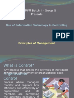 Use of IT in Controlling