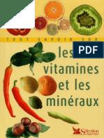 Tout Savoir Sur Les Vitamines Et Les Mineraux