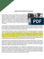 Información Complementaria Tarea 3 LA AUTONOMIA Como Finalidad de La Educación