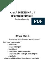 KIMIA MEDISINAL  (Farmakokimia I).ppt