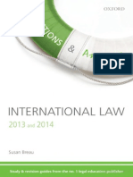 Q & A Revision Guide International Law 2013 and 2014