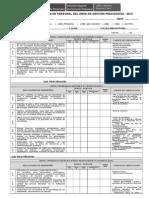 Ficha de Evaluación Personal Área Gestión Pedagógica 2013