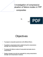 Experimental Investigation of Compressive Properties & Evaluation Of