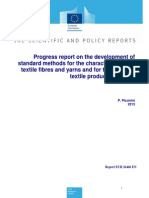 Standard Method for Characterisation and Safety of Textiles and Toys Final Report(1)