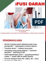 Makalah Anestesi Mutiara (Transfusi Darah)