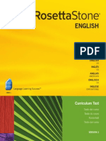 Rosetta Stone Content Level 1 Version 2