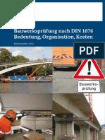 Dokumentation Bauwerkspruefung nach Din 1076