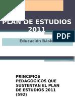 Ponente 2 Principios Pedagógicos Plan de Estudios 2011