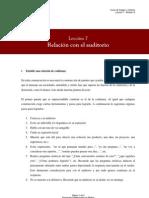 Leccion7 Relacion Con El Auditorio