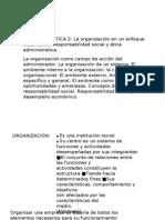 Administración Turismo - Unidad tamática 2 y 3