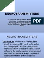 Neurotransmitter2 lec3