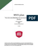MVO Plan Rolf Van Den Boogaart