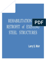 Rehabilitation and Renovation of Existing Steel Structures
