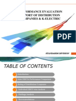 Distribution company performance