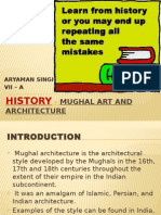HISTORY - MUGHAL ART AND ARCHITECTURE.pptx