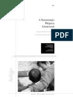 A Transmissão Psíquica Geracional