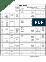Time Table II Sem 14-15