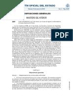 Uniformidad Cuerpo Nacional Policía_2014 O. 430-2014