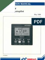 Piloto automatico AP3000X Manual
