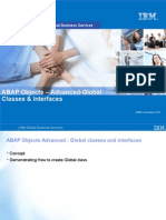 06 ABAP Objects - Global Classes & Interfaces