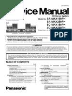 Panasonic SA-MAX150PH,MAX250PH,SC-MAX150PH,MAX250PH.pdf