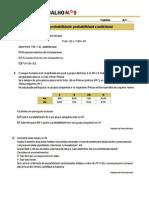 Ficha 9 - Probabilidade Condicional