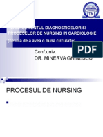 Diagnostice Si Procese de Nursing in Cardiologie