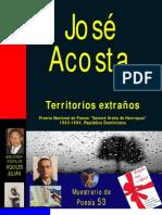 TERRITORIOS EXTRAÑOS, POR JOSÉ ACOSTA