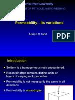 SC RE Chap9 Permeability Variations