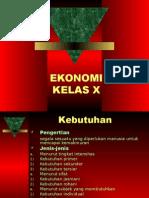 PowerPointKelasX[1].Ppt Ekonomi Kelas x