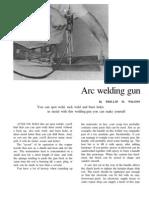 Welding Gun http://www.DangerousBumperStickers.com