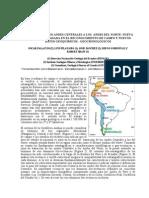 TRANSICIÓN DE LOS ANDES CENTRALES A LOS ANDES DEL NORTE